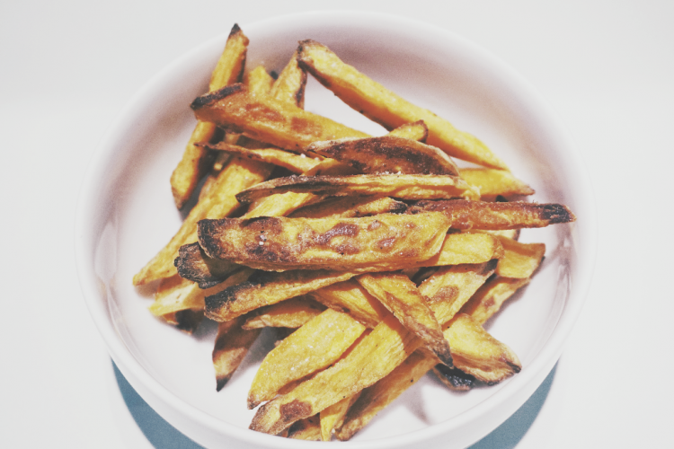 Foodhearted: Oven-baked Sweet Potato Fries