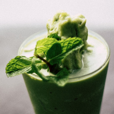 Foodhearted: Green Mint Zinger [Raw Juice]