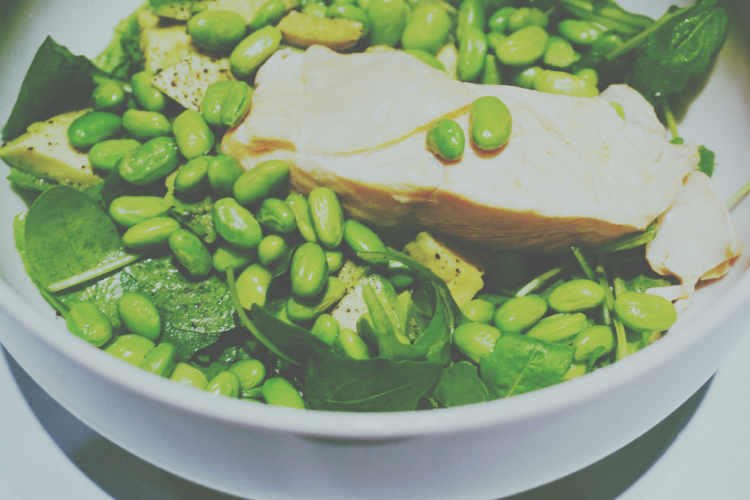 Foodhearted: Warm Salmon, Avocado and Edamame Salad